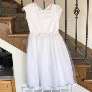 Other - Girls white formal/flower girl dress, size 6 or 6T